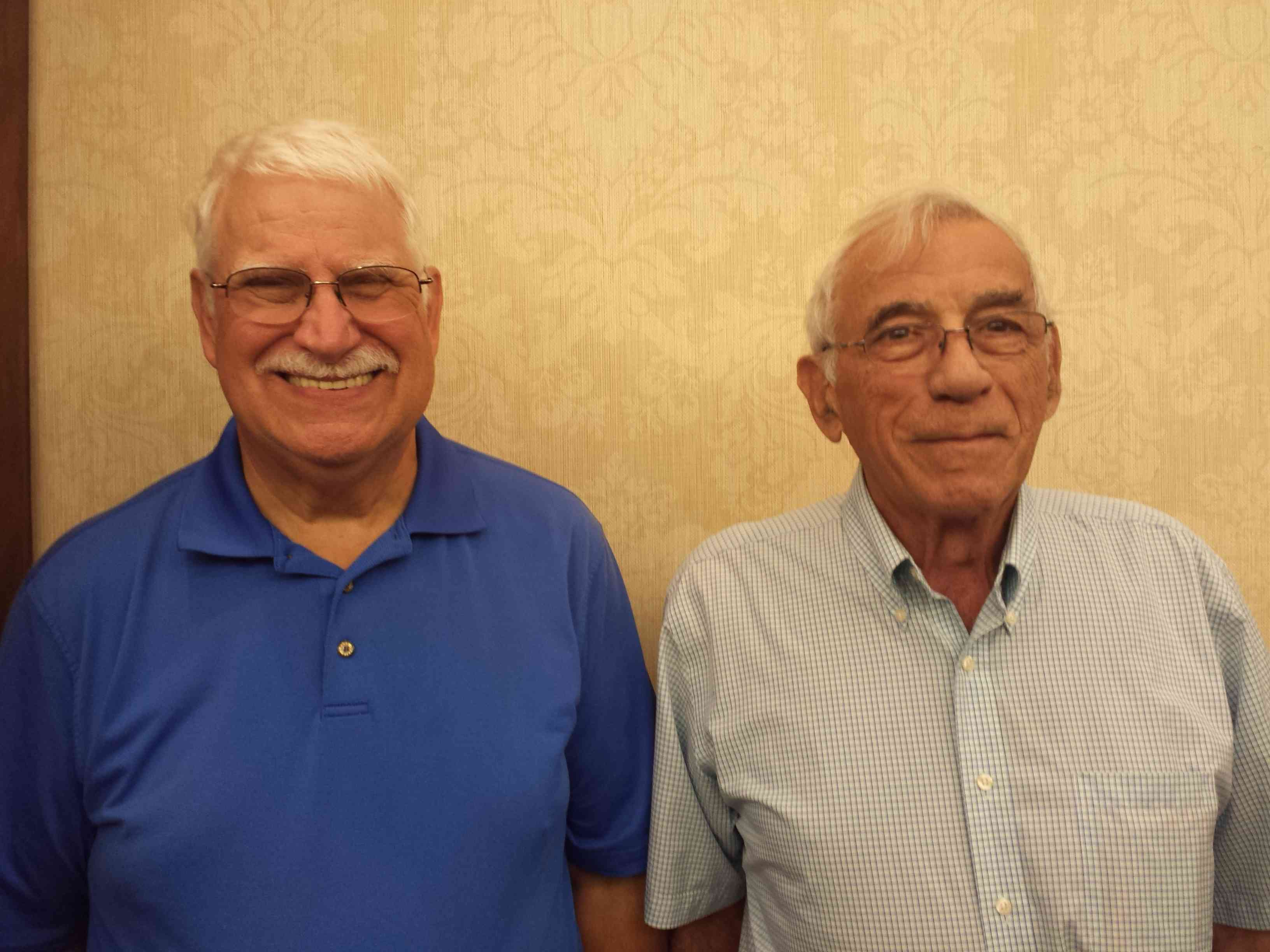 Tues AM and PM EW overall Gold Rush pairs 300, Robert Carver and Gene Zanelli, Scottsdale, AZ